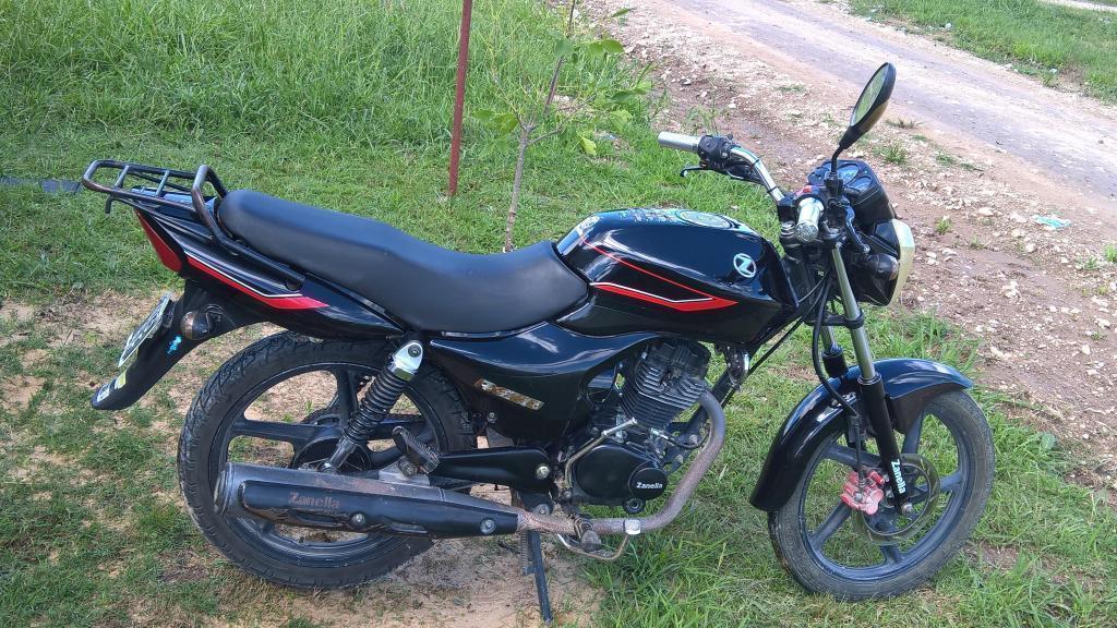 VENDO ZANELLA RX 125 SPORT 2010