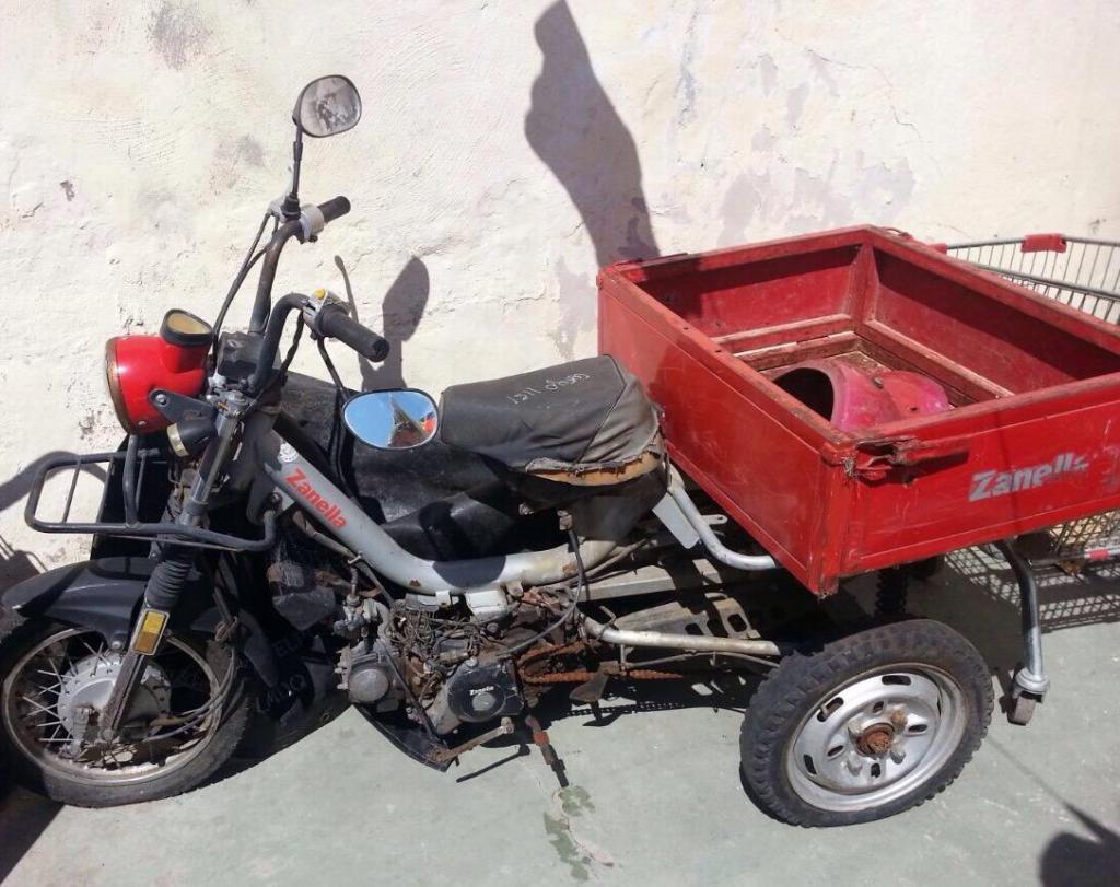 Ciclomotor Zanella Cargo