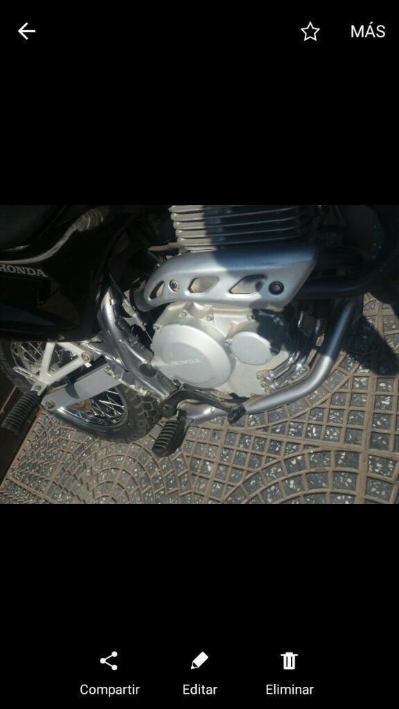 Moto Honda Falcon