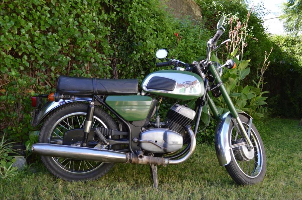 moto JAWA 350 634 bicilindrica mod 77 original Checa