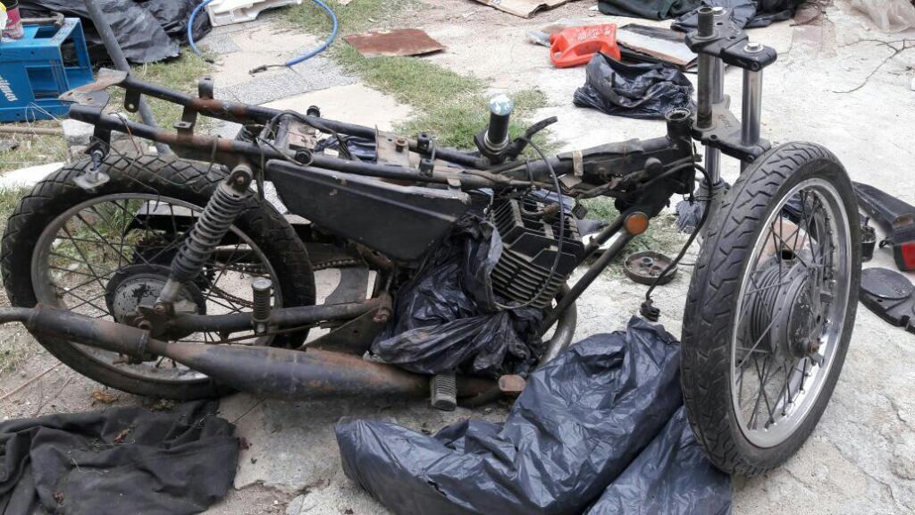 Vendo Zanella Rx 125 Modelo 89 Desarmada