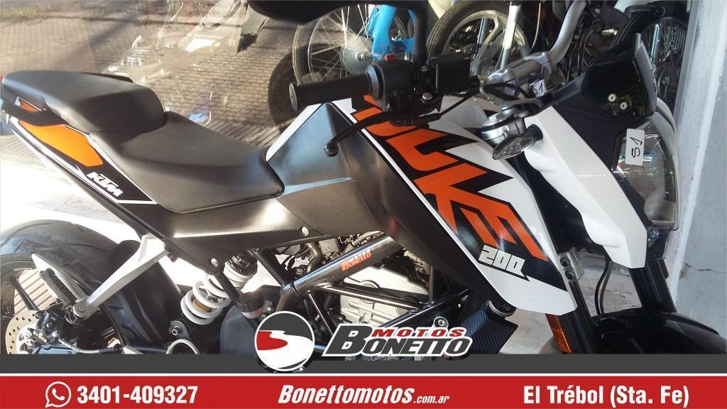VENDO KTM DUKE 200 2015 4000 KM BONETTO MOTOS