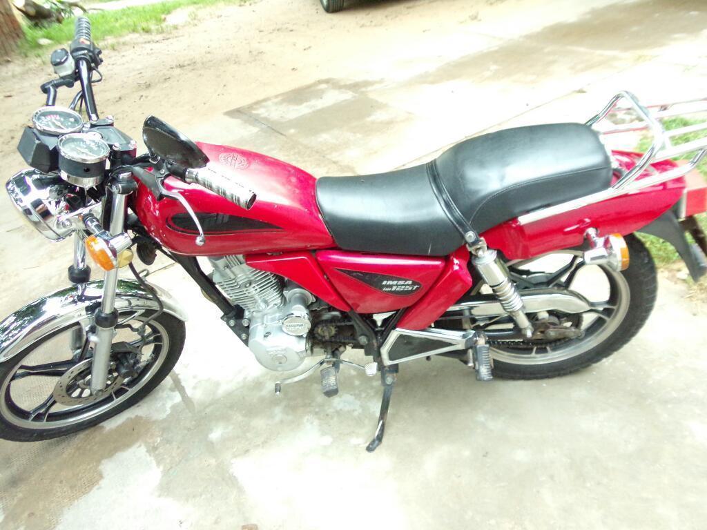 Moto 125 Cc Marca Imsa Trophy Vendo