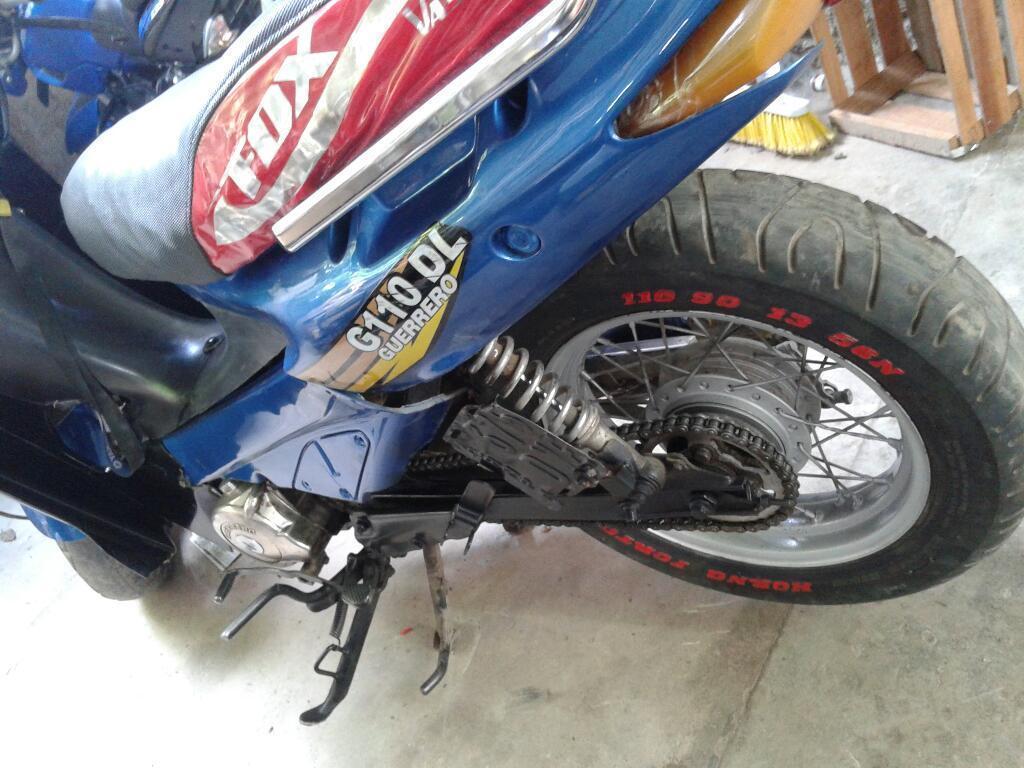 Vendo Guerrero Tuning 110cc