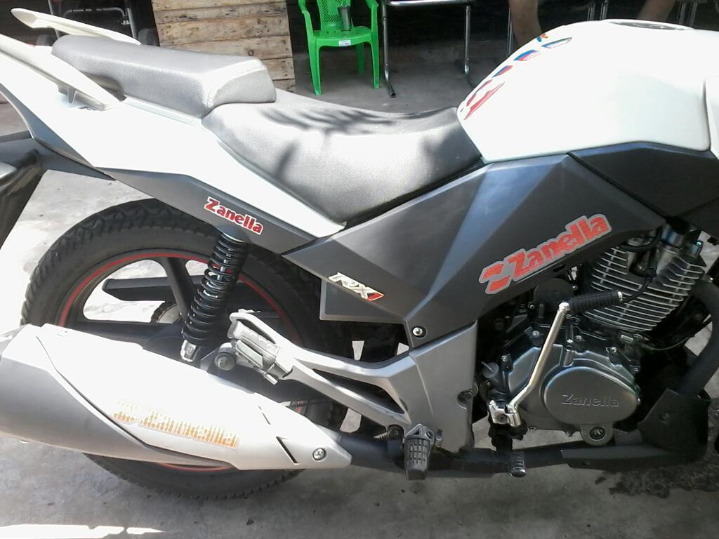 Vendo Zanella Rx 1 Nueva Impecable 150