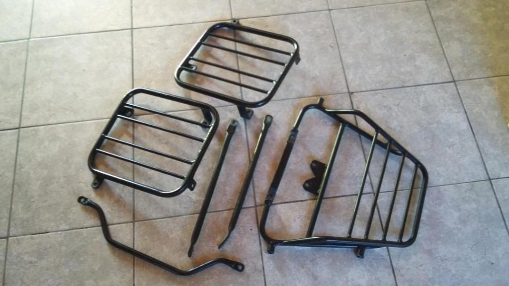 Anclajes y porta equipaje para Honda Twister cbx250