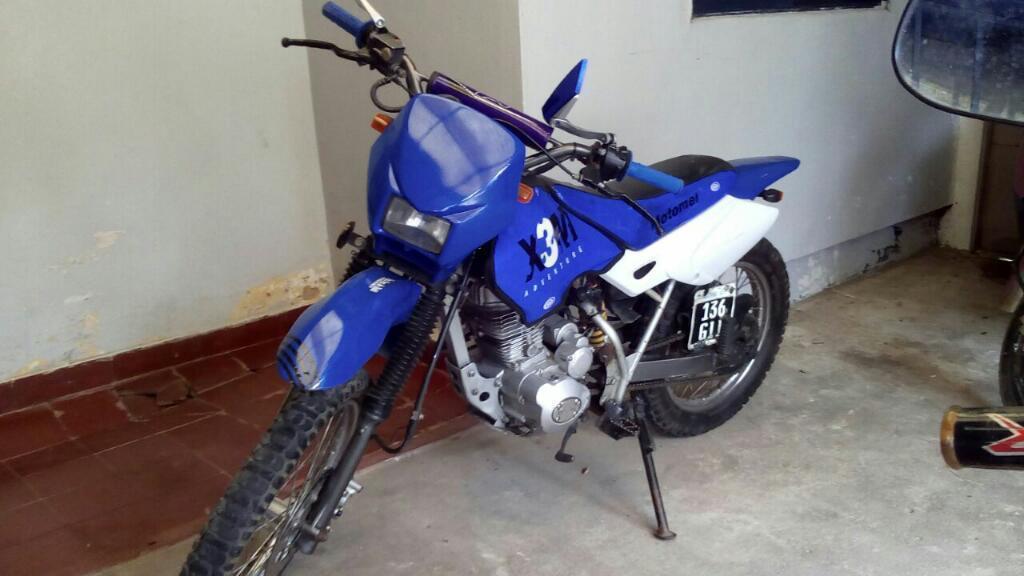 Vendo Motomel X 3m 125cc Modelo 2010
