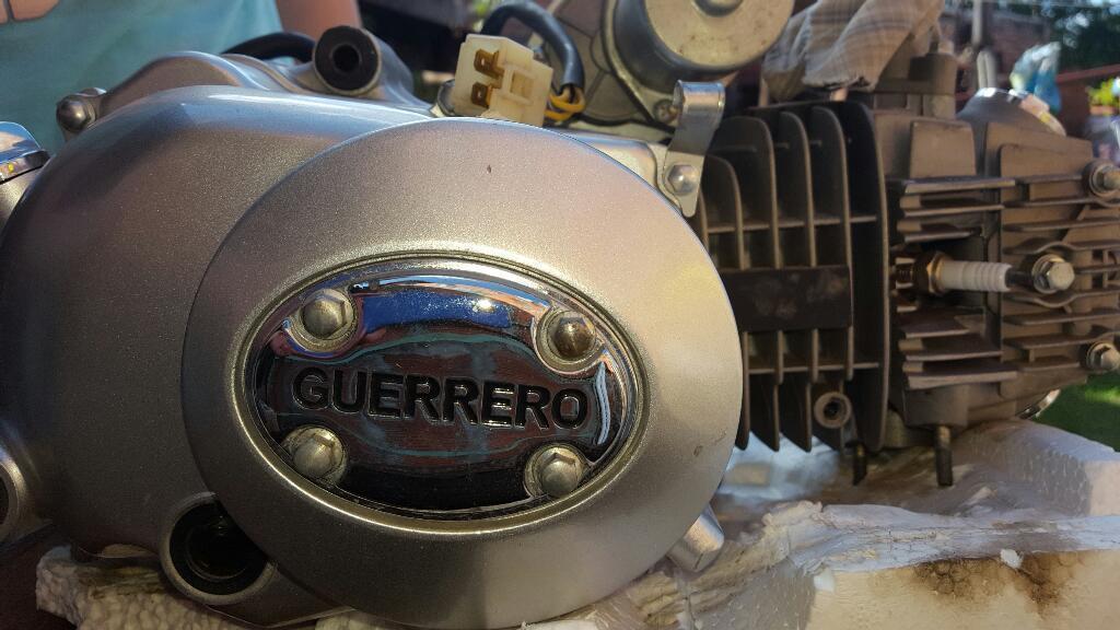 Motor Automatico Guerrero 110cilindrada