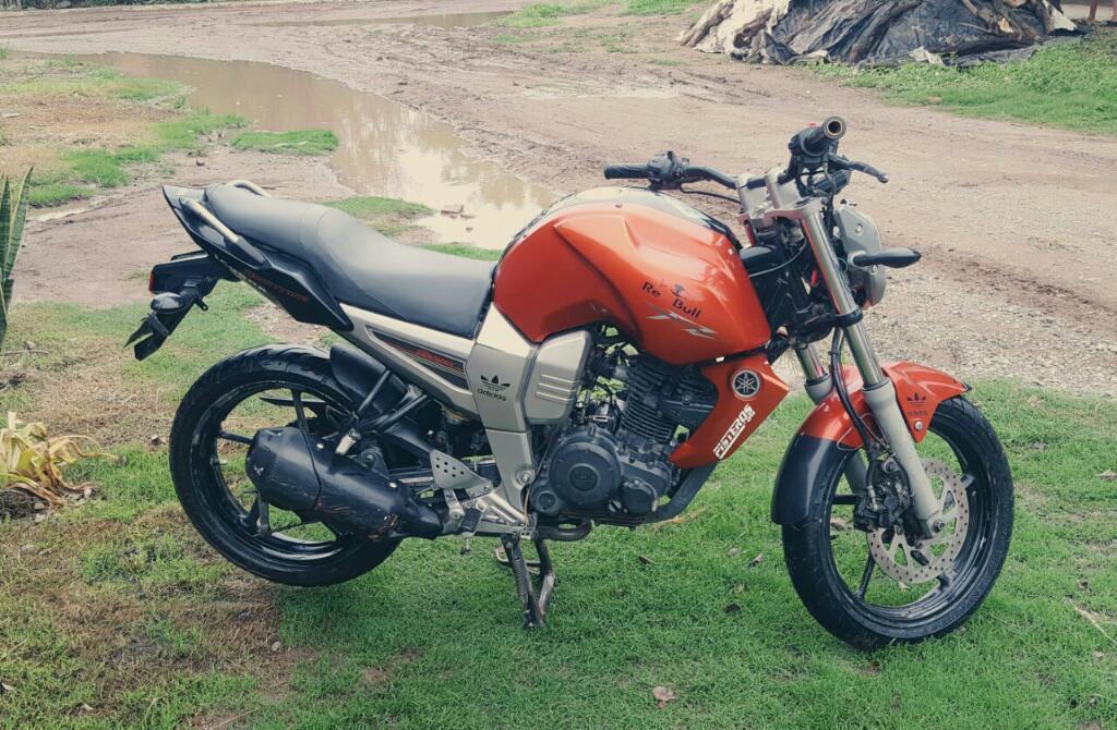Permutó Fz X Honda Wave Y Efectivo