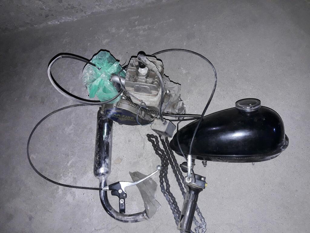 Motor de Bicimoto a Reparar Enbrague