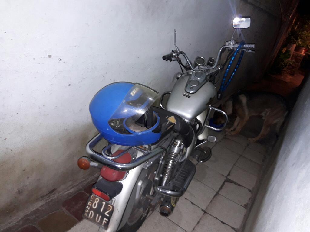Moto Zanella 150 Patagonia