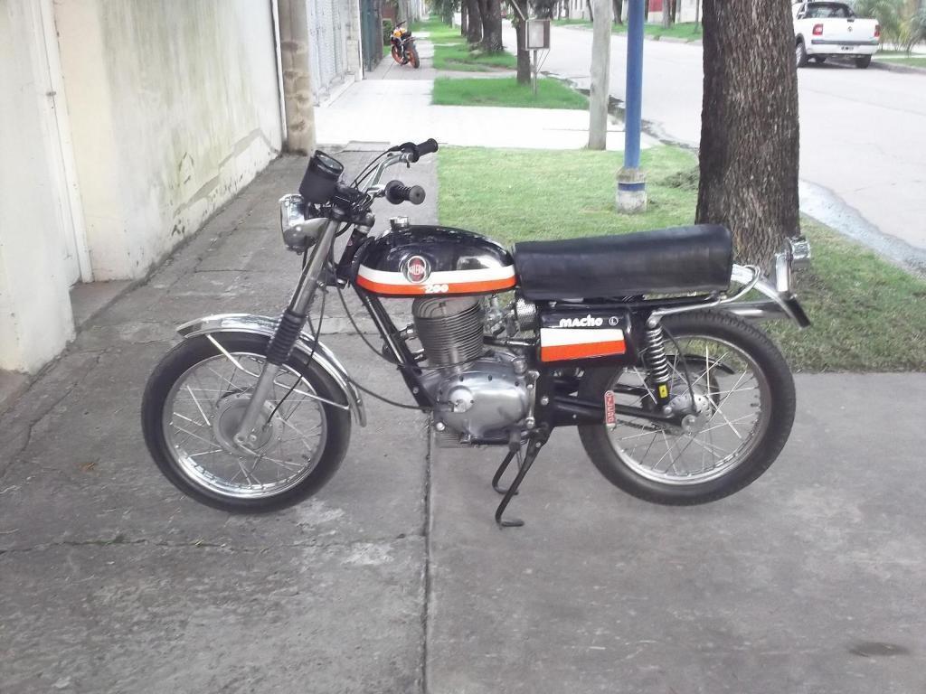 Gilera Macho 200