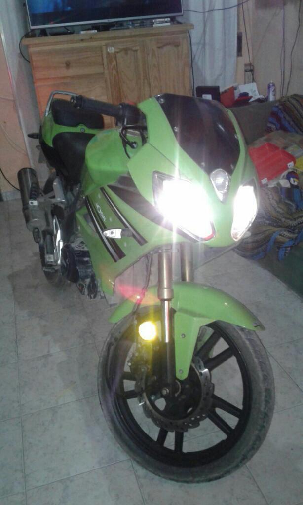 Vendo Moto Mondial Modelo 2012