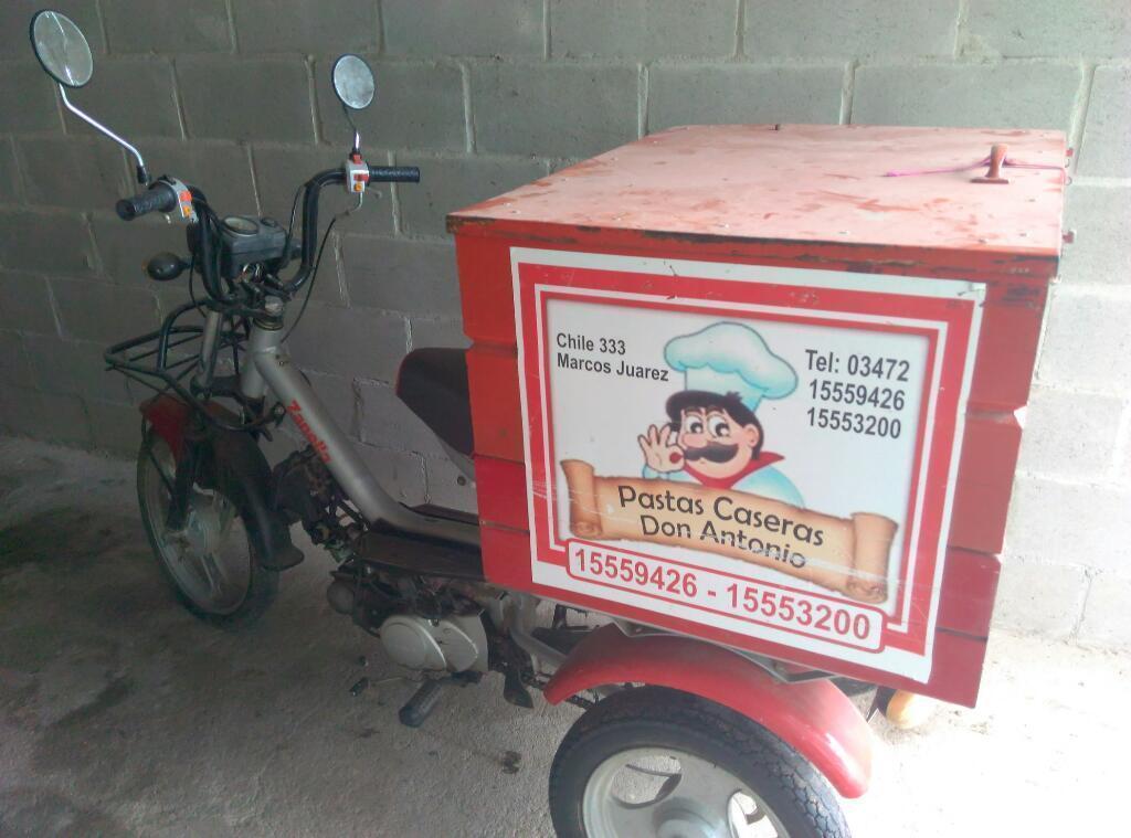 Vendo Moto Zanella Tricargo