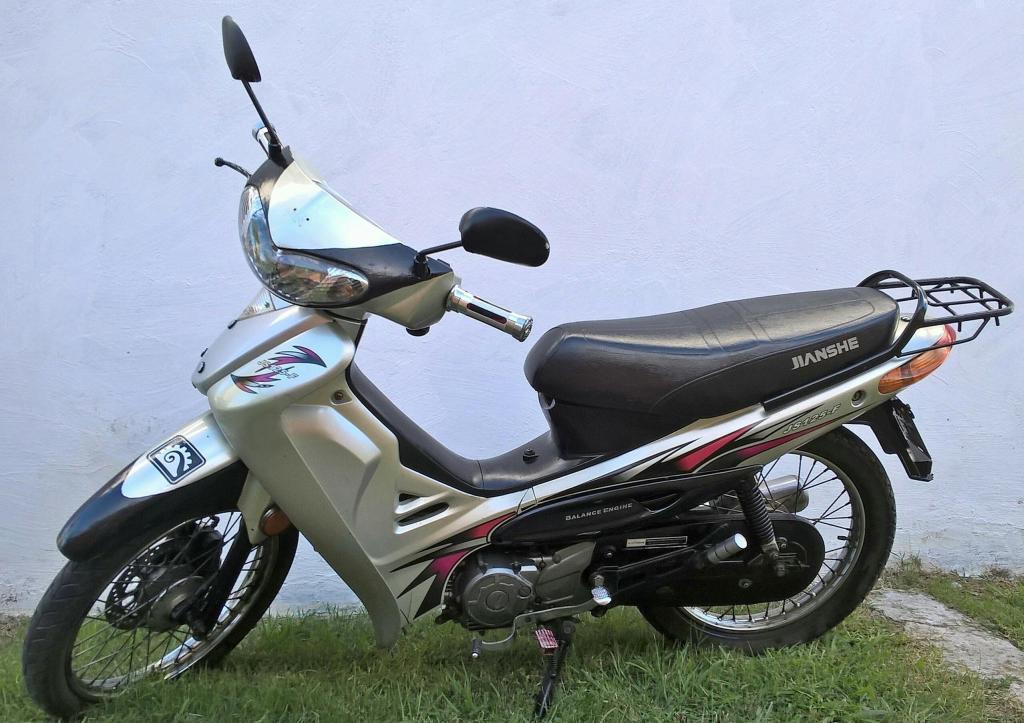 Moto Jianshe JS 125 F ,modelo 2007 en buen estado