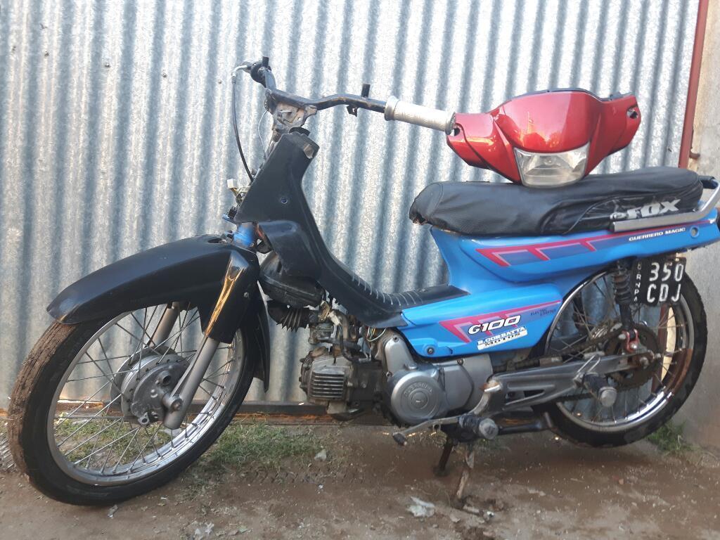 Vendo Moto Guerrero 100cc