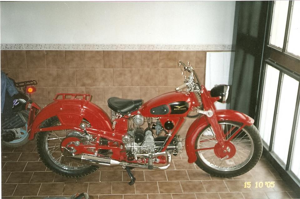 Vendo Moto Guzzi Airone 250 cc año 1946
