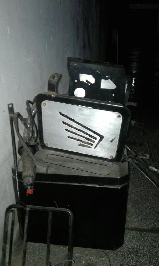 Porta Alforja Y Baulera,honda Aluminio