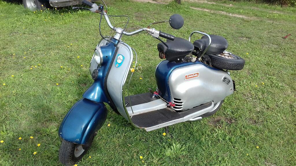 Siambreta de Lujo 1960.motor Nuevo