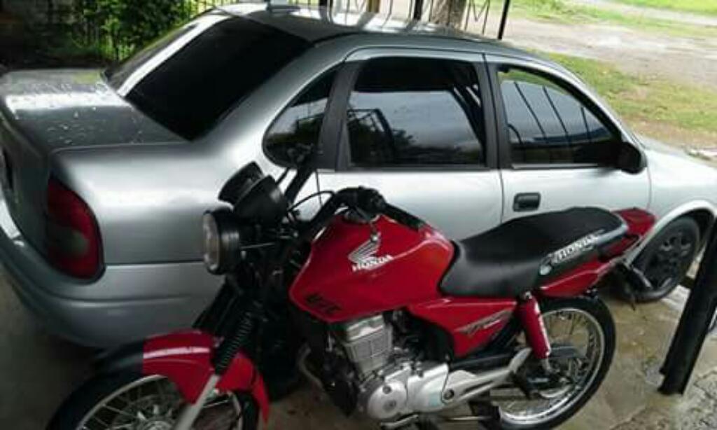 Honda Cg Titan 125 Modelo 2012