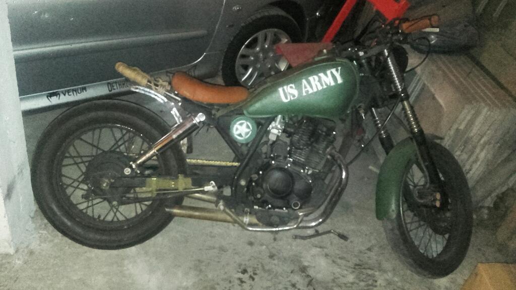 Moto Bobber Custom 150