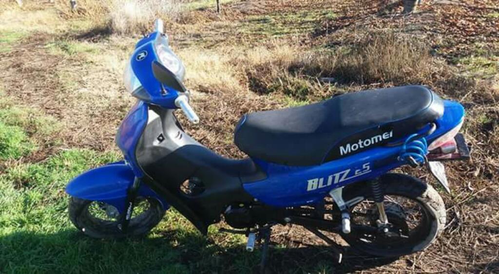 Vendo Motomel 125 Modelo 2012