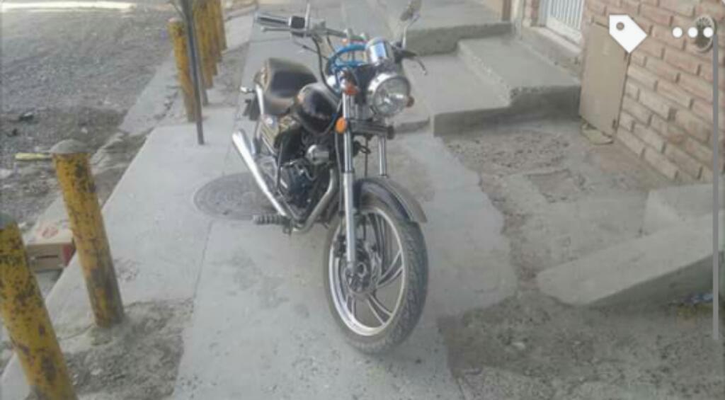 Gilera Yl 200 con Alforjas Incluidas
