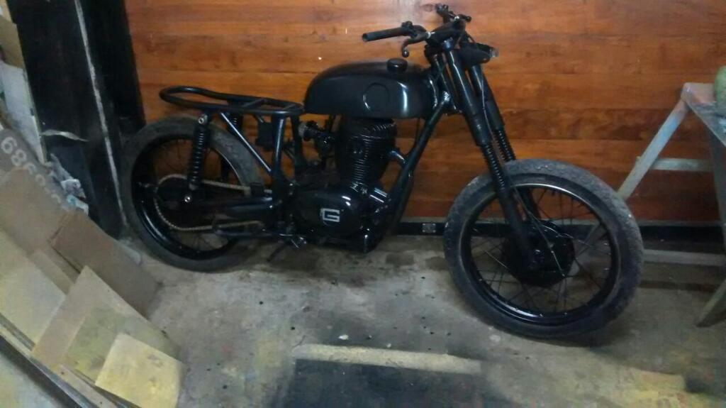 Moto Gilera Macho 200