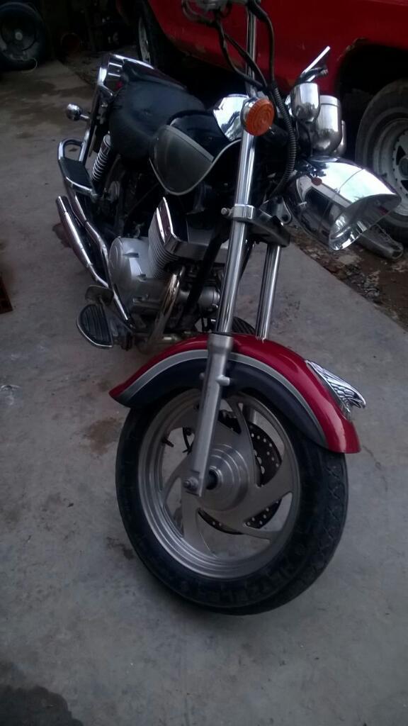 Moto Zanella 250 Patagonia