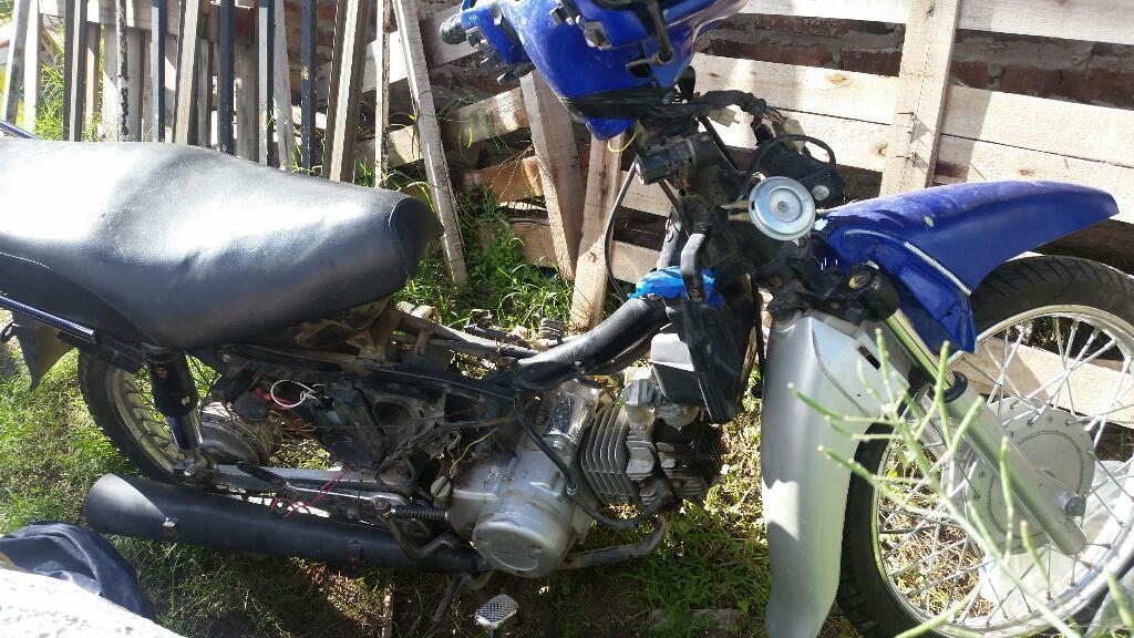 Moto Guerrero 110