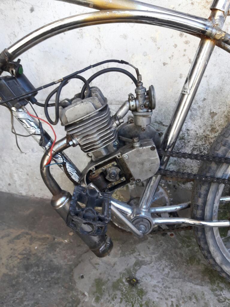 Cambio Motor de Bicimoto por Una Potecia