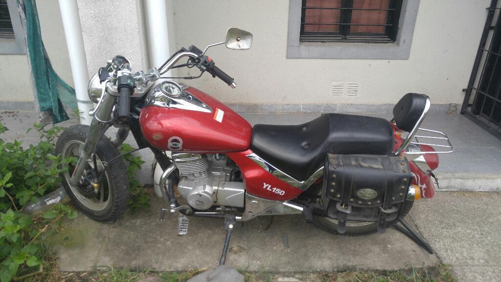 Gilera Yl150 Custom 2014