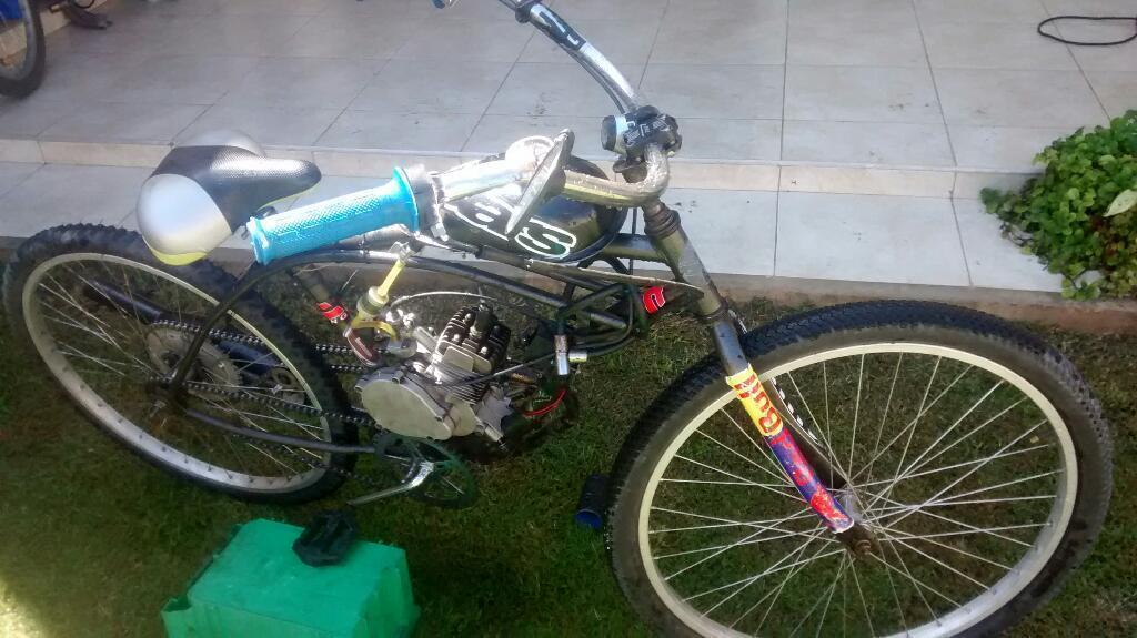 Bicimoto Motor 48cc Impecable!