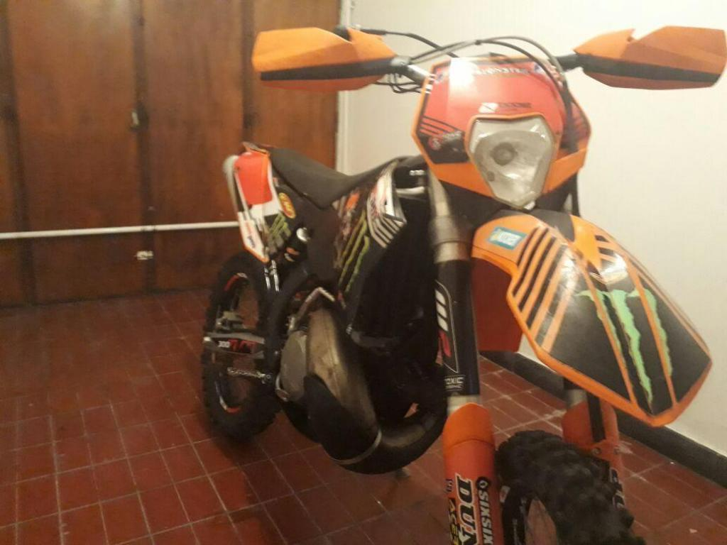 ktm exc 300 modelo 2009 impecable