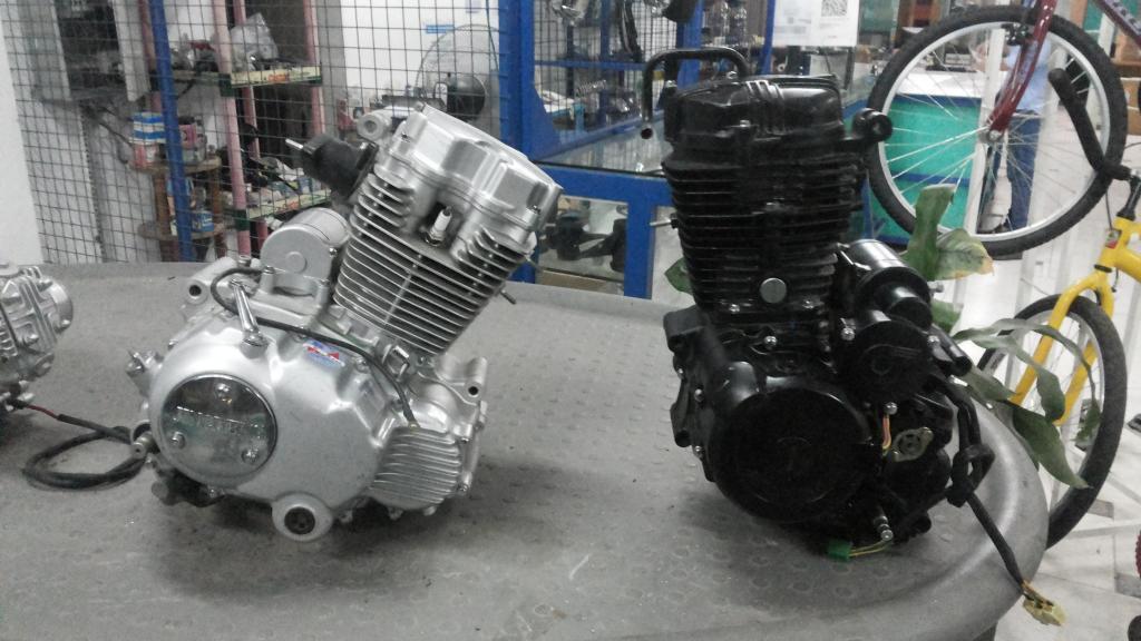 Motor 125cc Jincheng Jc12517B Karting Repuesto