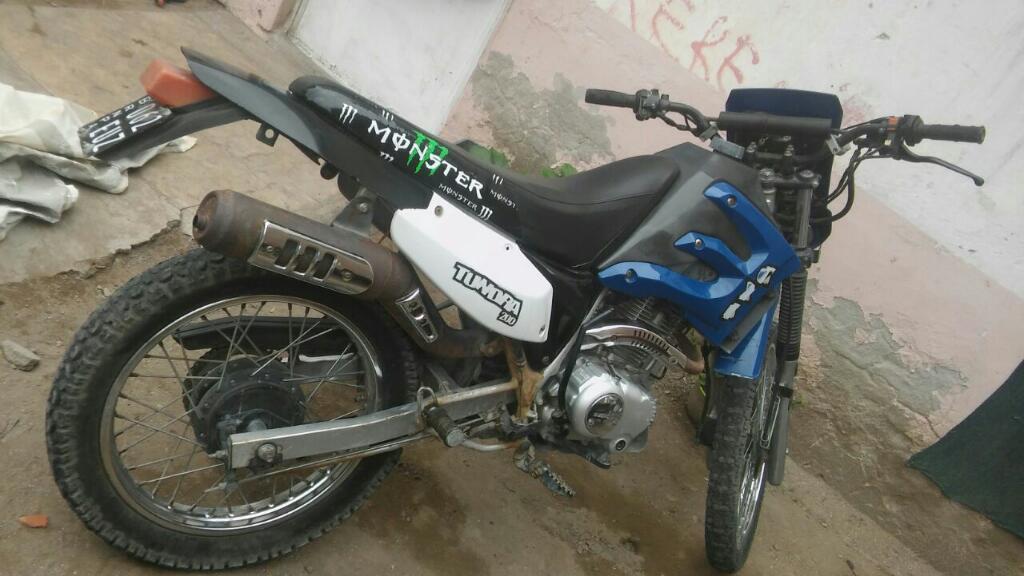 Moto Guerrero 200cc