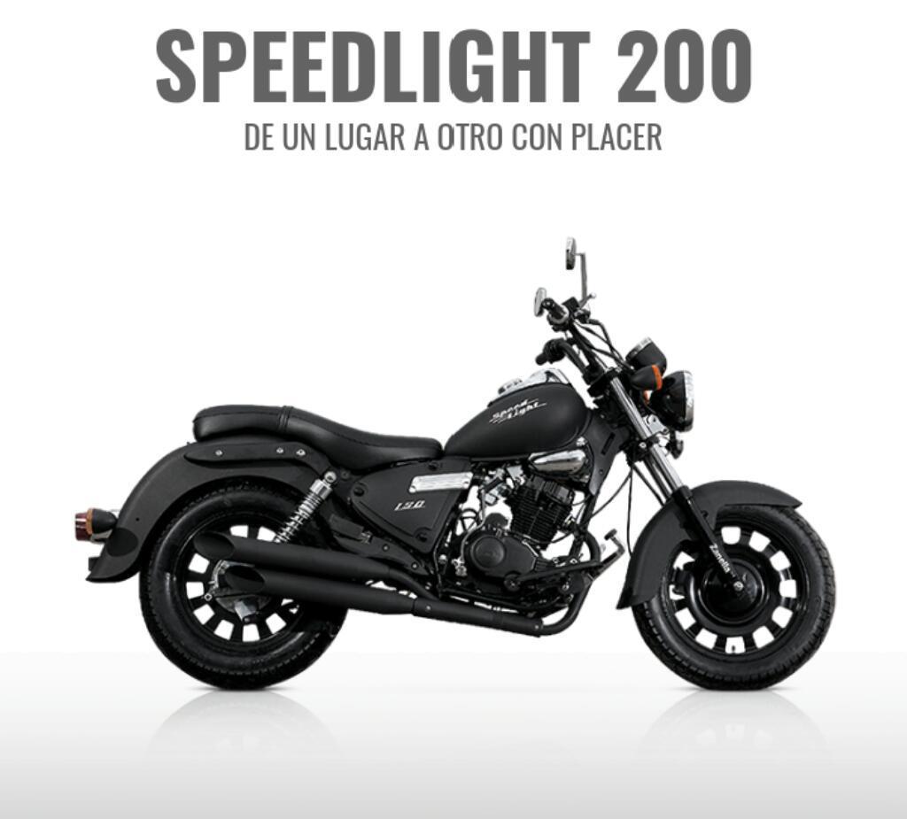 Zanella Custom Speedlight 200