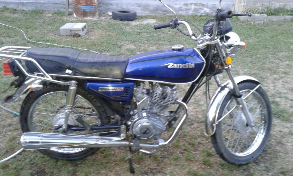 Vendo Zanella Sapucai 125 Modelo 2011
