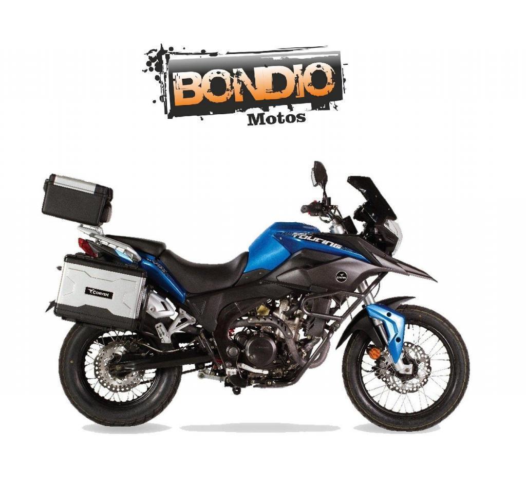 CORVEN TOURING TRIAX 250 Bondio Motos