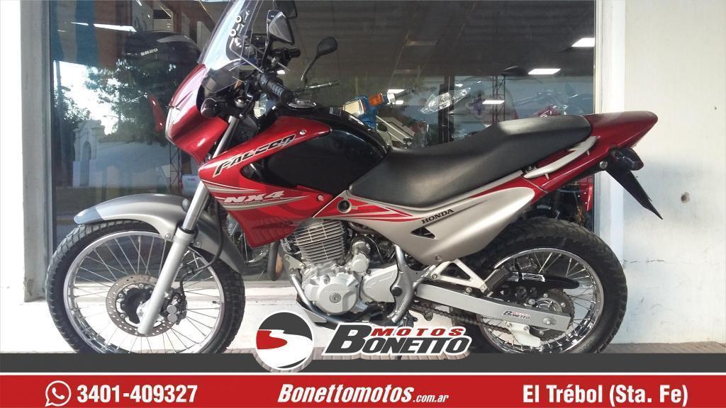 VENDO HONDA NX 4 FALCON 2009 25000 KM BONETTO MOTOS