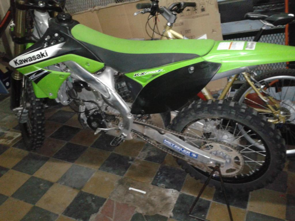 kx250f nueva 2012
