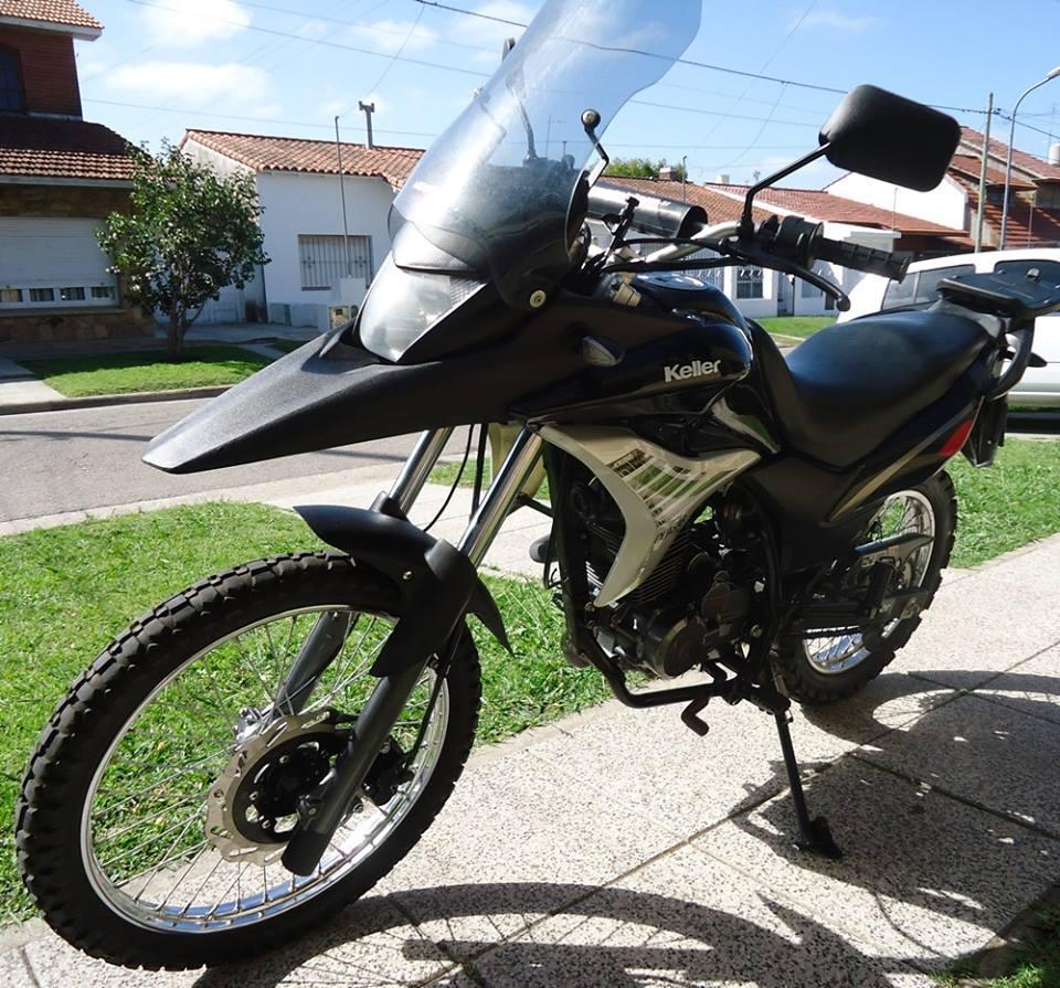 KELLER QUASAR 260 cc AÑO 2014, Como nueva. Vendotomo moto