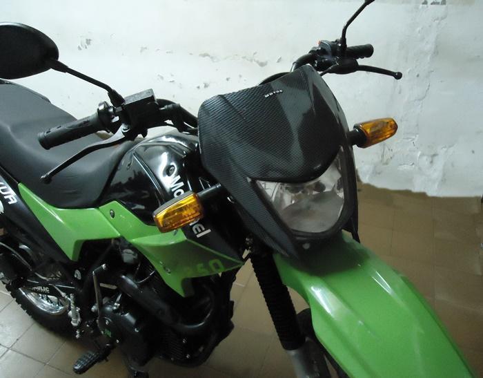 MOTOMEL SKUA 250 cc AÑO 2011. Vendotomo moto en parte de p