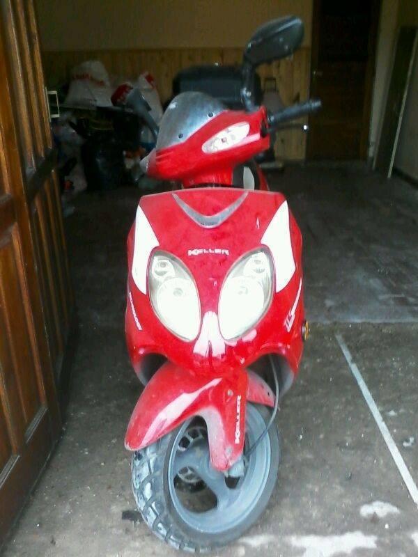 Scooter keller xtreme 150 cm3