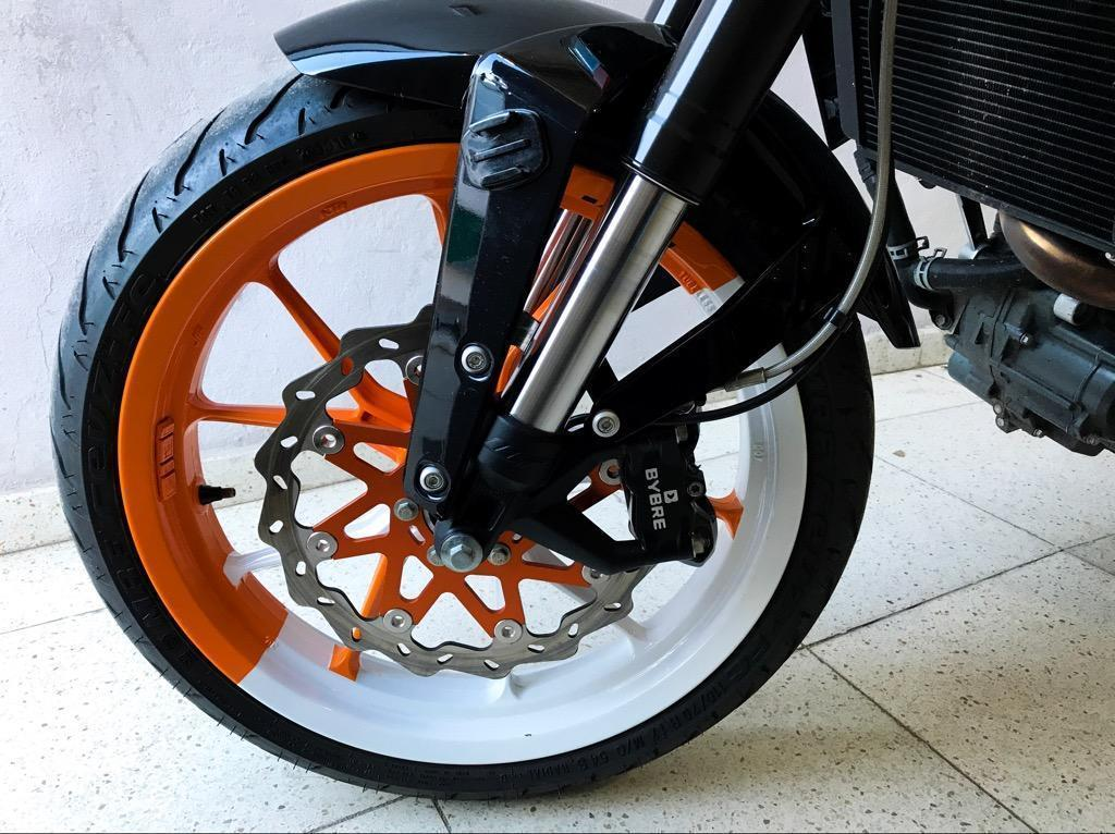 Ktm Duke 200 Año 2015 Unica