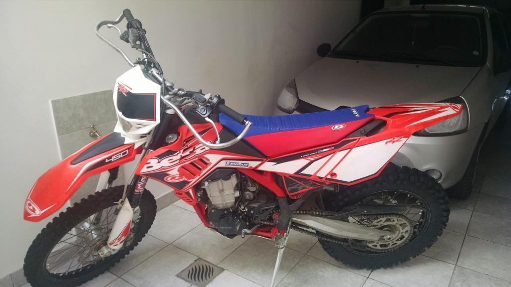 MOTO ENDURO BETA 450RR AÑO 2012 IMPECABLE
