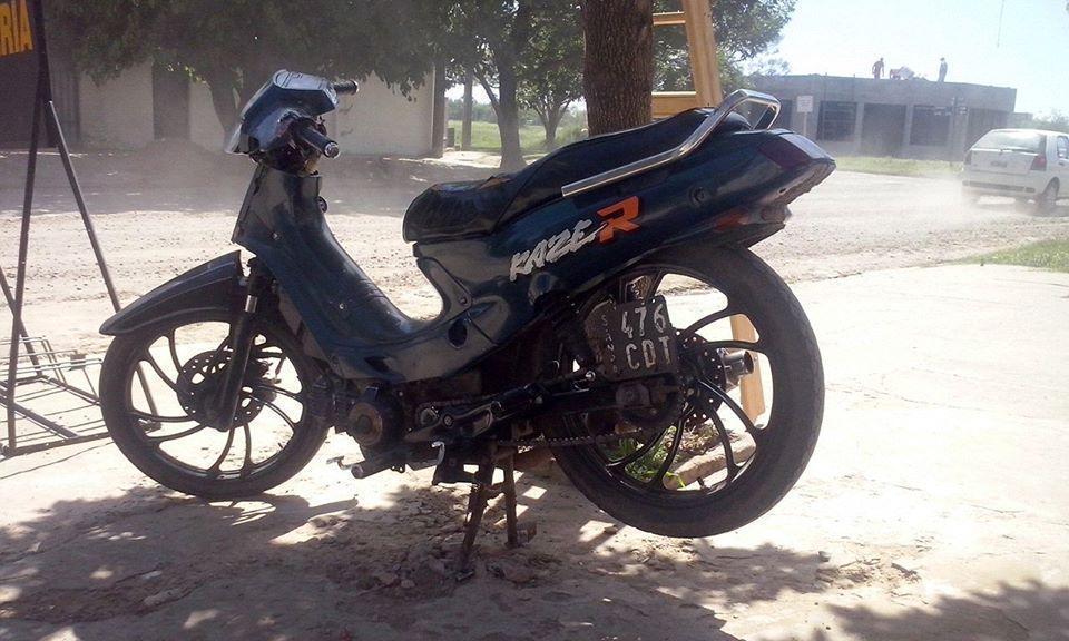 Moto 110 Kawasaki Kaze R 110