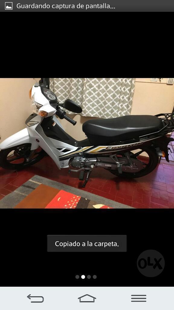 Vendo Yamaha New Cripton Como Nueva