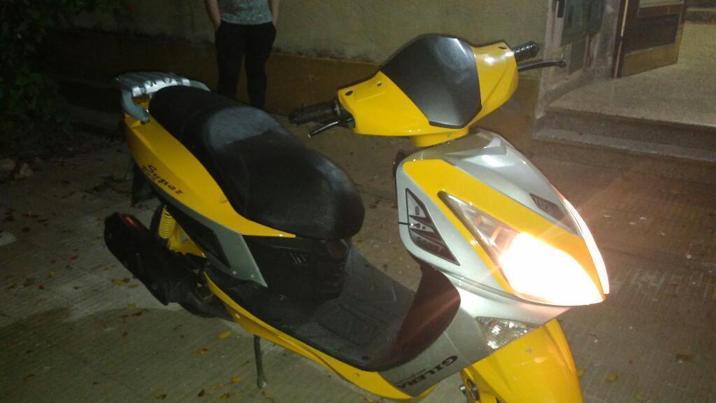 Vendo Scooter Gilera 2015