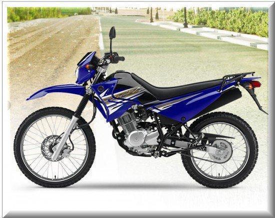 motocicleta yamaha xtz 125
